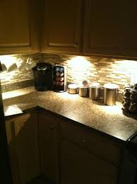 Where To Mount Under Cabinet Lights by Installing Under Cabinet Led Lighting Homemates Led Wireless Puck