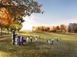Lakeview Lawn And Landscape by Park Renderings A Gathering Place For Tulsaa Gathering Place For