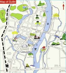 A Map Of China by Map Of Guilin China Guilin Map