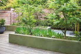 Family Garden Sf Like The Meandering Path Between Raised Planters Scott Lewis
