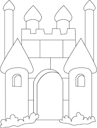 Castle Coloring Pages Castle Coloring Pages Search Preschool Sand Sandcastle Coloring Page