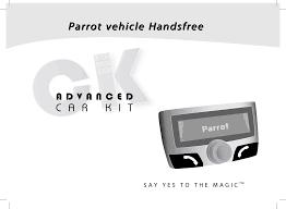 parrot gps receiver ck3100 user guide manualsonline com