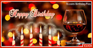 red wine glass happy birthday card happy birthday videos and
