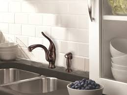 rubbed bronze kitchen sink faucet rubbed bronze kitchen faucet homedesig co