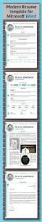 resume template with photo cover letter cv template word us