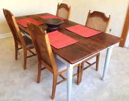 Rustic Pine Dining Tables Rustic Dining Table Farmhouse Solid Pine Wood Kitchen Table
