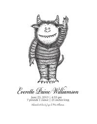 items similar to where the wild things are inspired monster