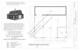 Grage Plans Download Free Workshop Barn Plan G313 36 U0027 X 36 U0027 10 U0027 Garage