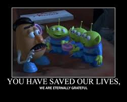 Toy Story Aliens Meme - toy story 2 aliens fav line by showman56 on deviantart