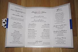 winter wedding programs diy we winter wedding ceremony program bridalguide
