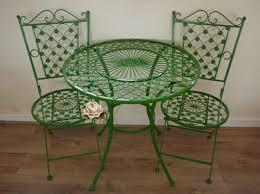 green wrought iron patio furniture interior pinterest iron