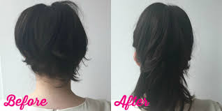 double ponytail trick how to make your hair look longer than it is