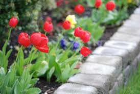 flower bed edging ideas lovetoknow