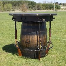 whiskey barrel bar table wine barrel bar tables choice image table decoration ideas