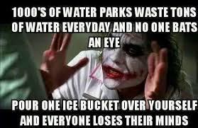 Selfish Meme - cadr life the selfish meme or als bucket backlash now who s