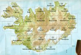 Birds Eye View Map Iceland Buy Maps And Travel Guides Online