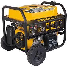 firman power equipment p05702 5700 7100 watt portable remote start