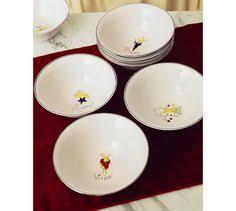 reindeer dinner plates mixed set of 4 set 2 comet cupid