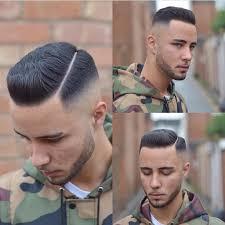 short hair undercut men s men u0027s short pompadour undercut with fade and hard part