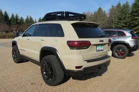 tan jeep grand cherokee jeep grand cherokee ecodiesel trail warrior concept vehicle photo