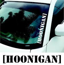 nissan frontier vinyl graphics product 3x hoonigan large windscreen stickers drift jdm euro dub