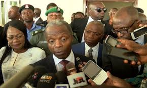 Number Of Cabinet Members Acting President Osinbajo Receives Update On The Gambia