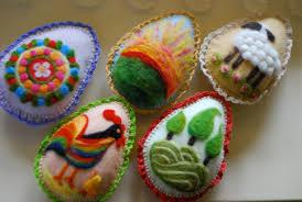 felted easter eggs felted easter eggs a handmade