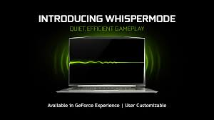 introducing geforce gtx laptops with max q design thin fast