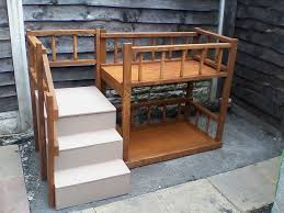 dog bunk beds with stairs home design ideas