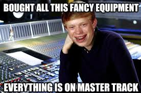 Audiophile Meme - soundoracle drums drumkits beats beatmaking oraclepacks