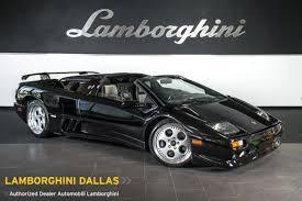 lamborghini diablo roadster for sale used 1999 lamborghini diablo for sale richardson tx stock l0713