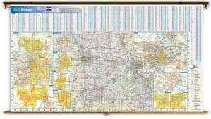 Map Missouri Missouri State Reference Wall Map From Geonova