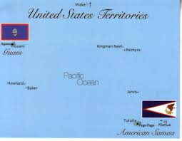 American Samoa Map Map Of United States Pacific Territory Guam Samoa Etc Mapg07