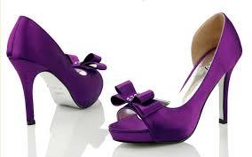 wedding shoes purple purple wedding heels open toe high heel satin affordable bow