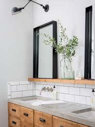 bathroom mirror design ideas best 25 bathroom mirrors ideas on farmhouse