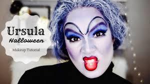 ursula 2016 halloween makeup look nadia xo youtube