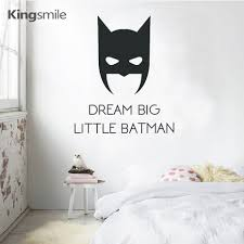 compare prices on big kids furniture online shopping buy low cartoon dream big little batman wall sticker quotes vinyl decals movie batman poster wall stickers for
