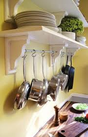 Kitchen Hanging Pot Rack by Best 25 Hanging Pans Ideas On Pinterest Hanging Pots Pot Rack