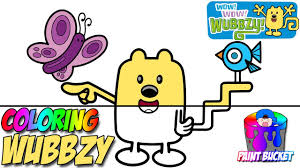 wow wow wubbzy coloring pages nickelodeon nick jr coloring