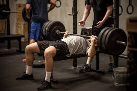 bench press 2 rep max u0026 5 rft toes to bars power snatches and