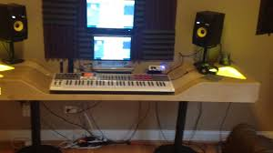 Studio Desk Music by How To Build An At Home Recording Studio The Best Studio Desk