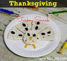 classroom recipes thanksgiving turkey snacks