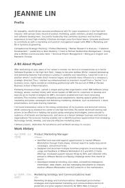 Mba Marketing Resume Sample by Product Marketing Manager Resume Samples Visualcv Resume Samples