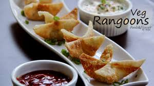 indian appetizers veg rangoon cheese wontons and easy indian snacks