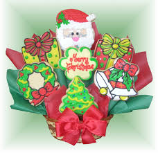 cookie arrangements sd 134 winter cookie bouquet buy now christmas