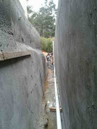 avalon structural retaining walls with limited access