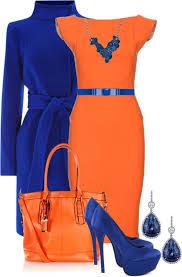 Best Colors With Orange Best 25 Orange Dress Ideas On Pinterest Orange Dress