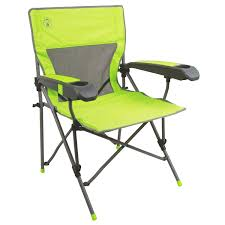 Folding Patio Chairs With Arms by Amazon Com Coleman Vertex Plus Hard Arm Chair Sports U0026 Outdoors