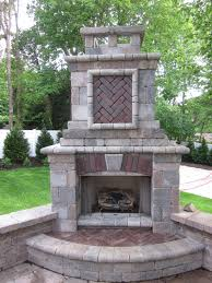 Outdoor Fireplace by Decor Best Outdoor Patio Ideas With Winsome Unilock Fireplace