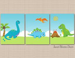 Dinosaur Nursery Decor Dinosaur Nursery Wall Dinosaur Land Nursery Decor